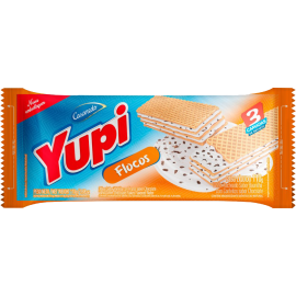 Biscoito Wafer Flocos YUPI