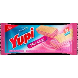 Biscoito Wafer Morango YUPI