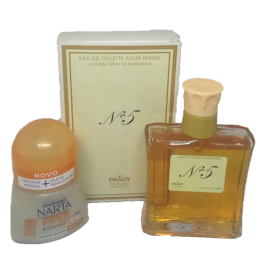 Perfume Nº5 PRADY + Stick NARTA GARNIER