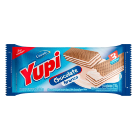 Biscoito Waffer Chocolate Branco YUPI