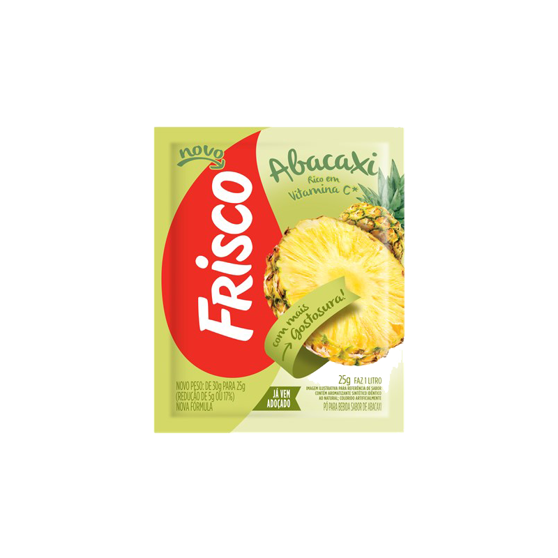 Caixa de Sumo de Abacaxi - FRISCO