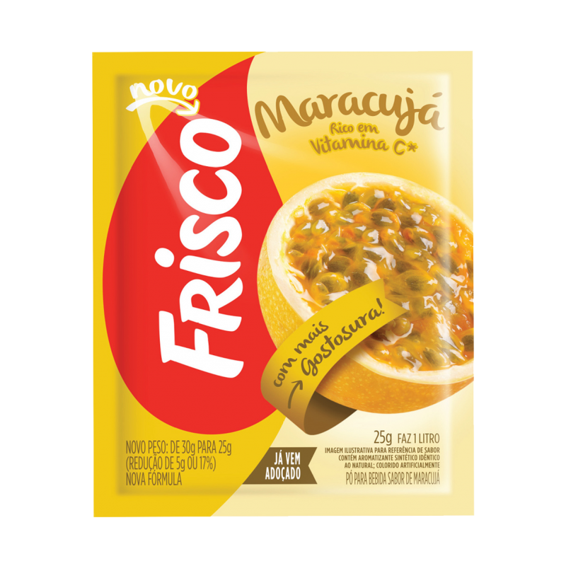 Caixa de sumo de Maracujá - FRISCO