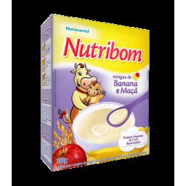 Papa Infantil Banana e Maçã - NUTRIBOM