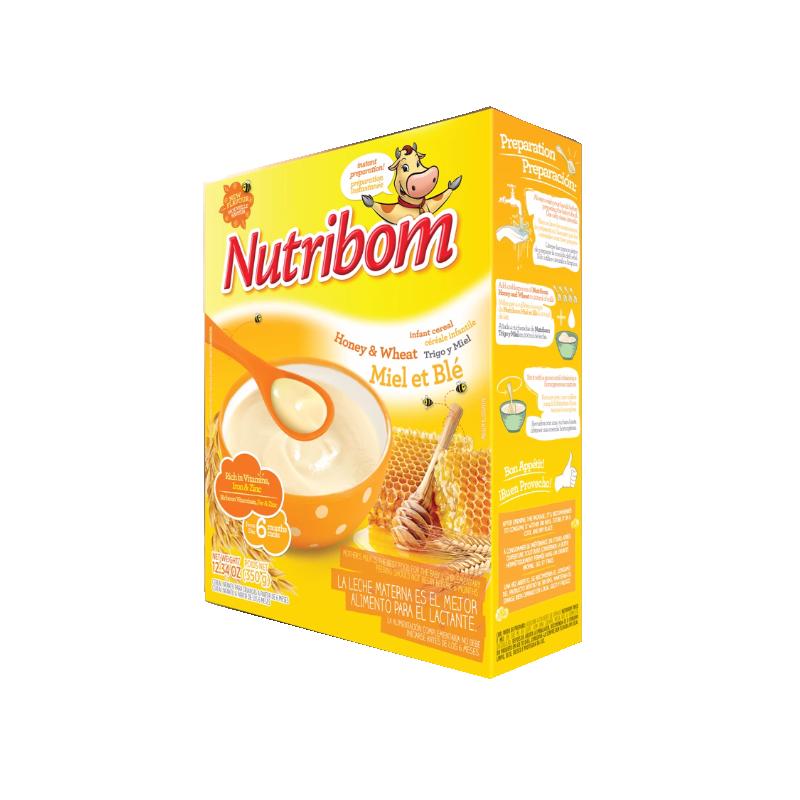 Papa Infantil Trigo e Mel - NUTRIBOM