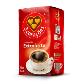 Café Extra Forte - 3 CORAÇÔES