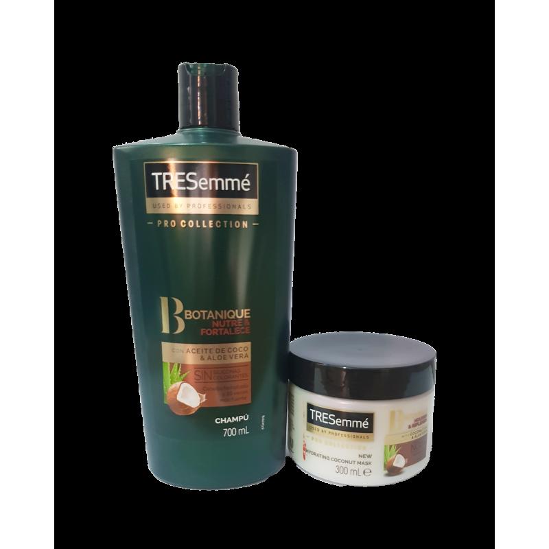 Shampoo e mascara - TRESEMMÉ